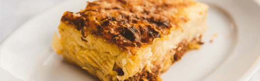 Greek recipe for Pasticcio