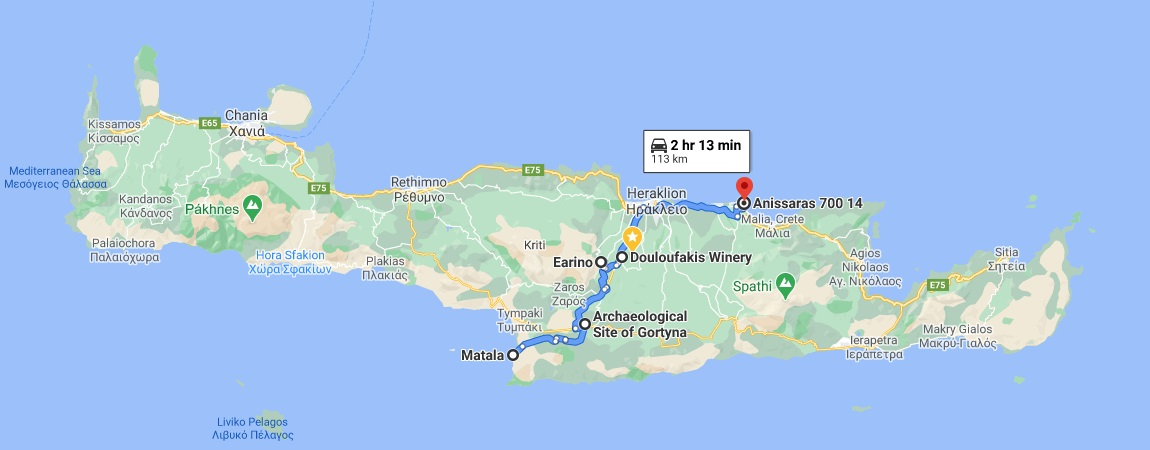 All-day trip from Heraklion to North Crete