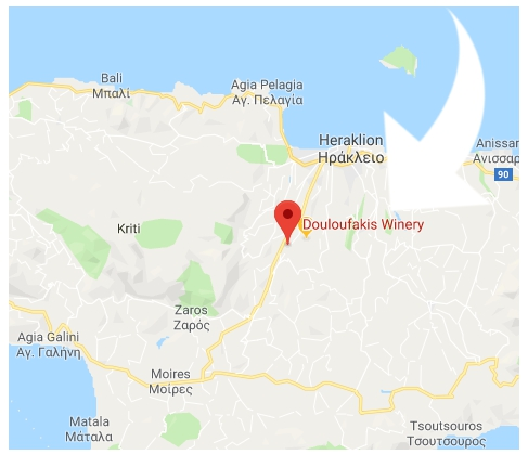 How to get to Douloufakis Winery, Dafnes  Crete