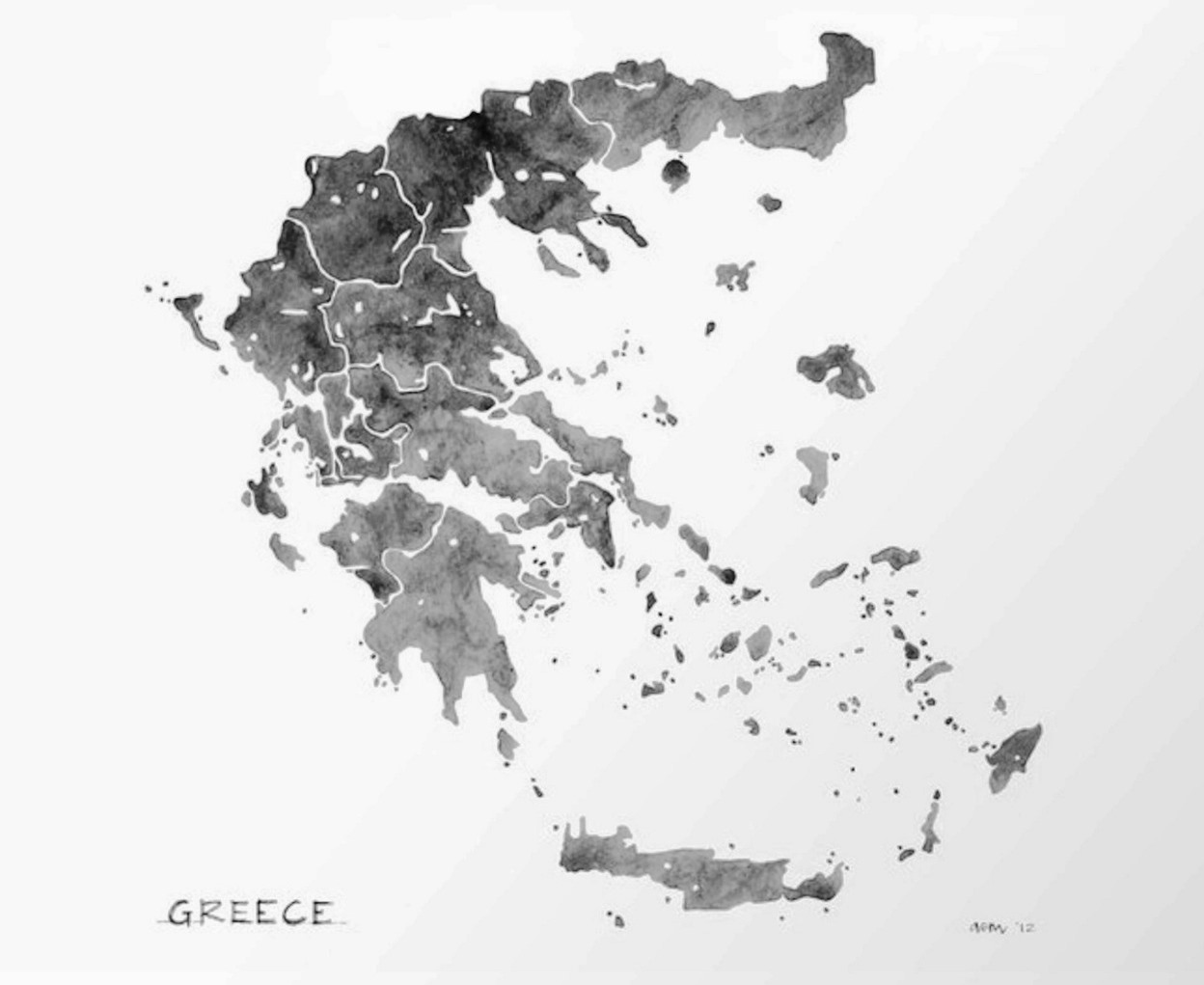 Greece, the southernmost edge of Europe
