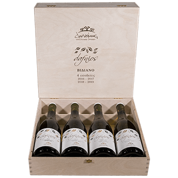Vertical Wine Tasting of Douloufakis Dafnios White wine